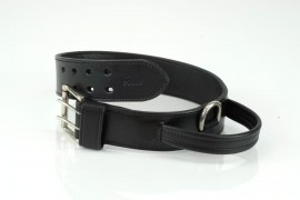 Bieler-Leather Police- Halsband- Schwarz | Nowasell Animals Collection & More