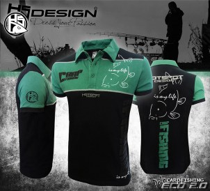 Hotspot Design Poloshirt Carpfishing Eco 2.0 | Nowasell Animals Collection & More