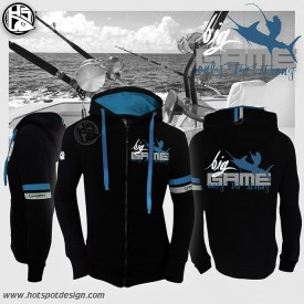 Hotspot Design Zipped sweat BIG GAME | Nowasell Animals Collection & More