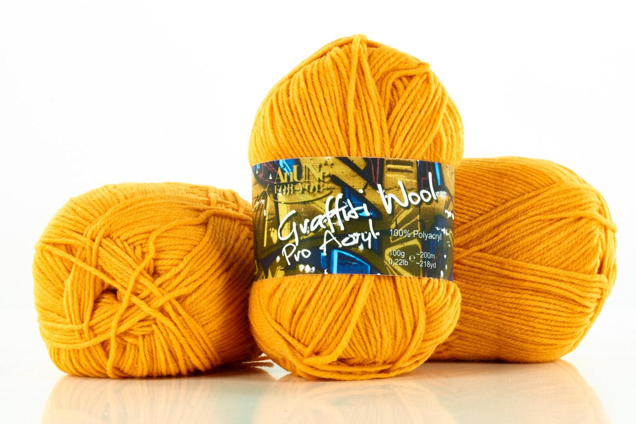 magenta Graffiti Wool Pro Acryl 100g Strickgarn 100/% Polyacryl Farbe 14