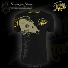 Hotspot Design T-Shirt Fishing Mania Carpfishing