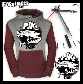 Hotspot Design Sweat Fishing Time PIKE | Nowasell Animals Collection & More